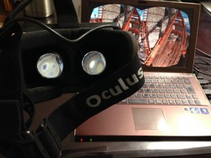 Oculus Rift and Roller Coaster