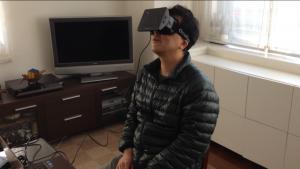 Wear Oculus Rift