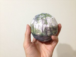 Printed sphere