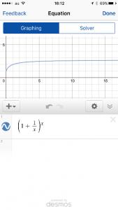 Mathpixで表示したグラフ