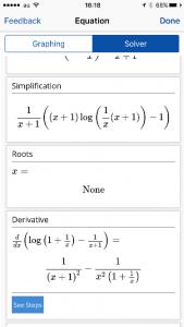 Mathpixによる微分計算結果(2)