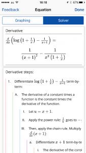 Mathpixによる微分計算結果の詳細
