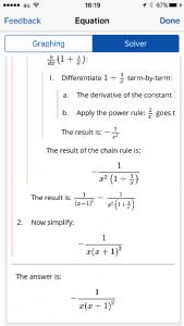 Mathpixによる微分計算結果の整理