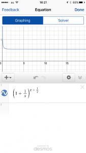Mathpixで表示したグラフ(2)
