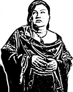 マツコ・デラックスの切り絵の中間ファイル