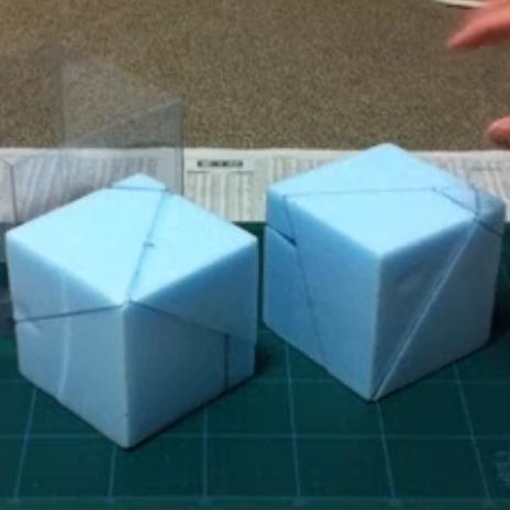 2つの立方体