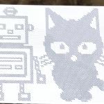 ロボットとネコ